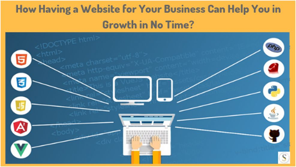 How Having a Website for Your Business Can Help You in Growth in No Time