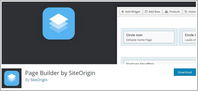 8. Page Builder by Site Origin