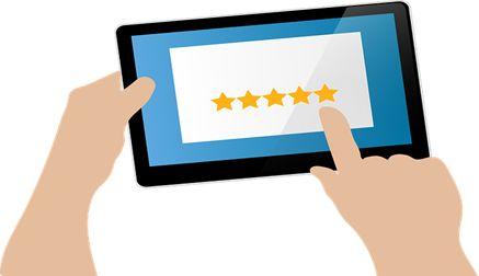 Encourage reviews: