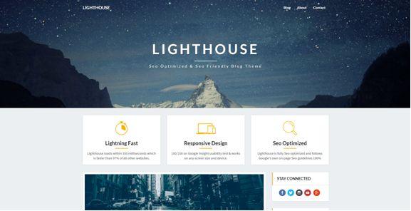 LightHouse WordPress Theme