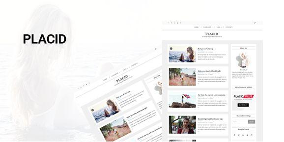 Placid WordPress Theme