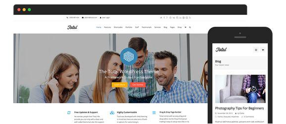 Total WordPress Blog Theme