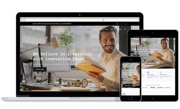 Zakra WordPress themes
