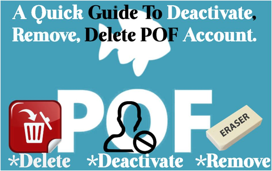 How to delete plenty of fish accounts from your mobile?
