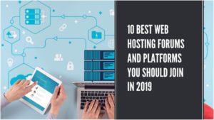 Best Web Hosting Forums