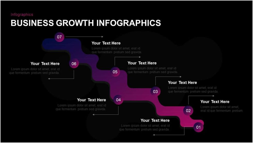 Business Growth Infographic Template