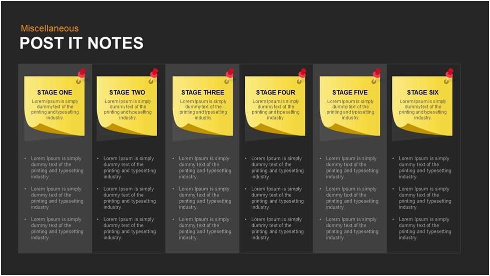 Post It Notes Templates