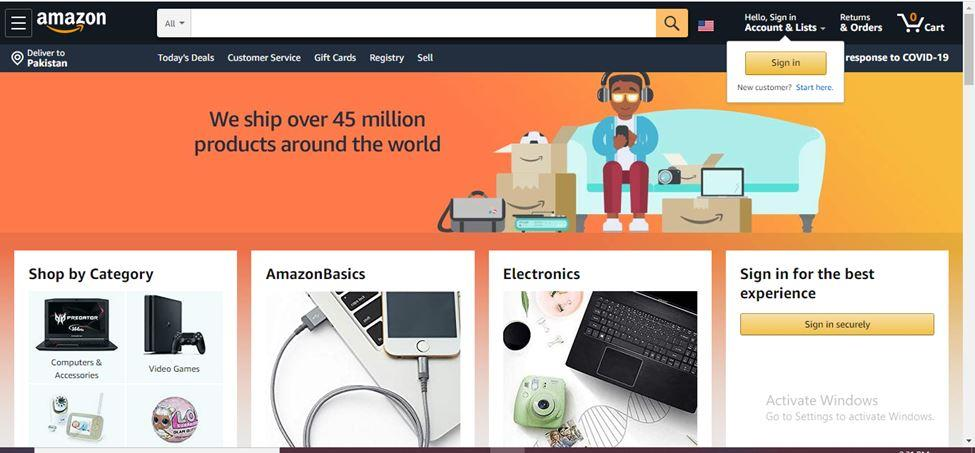 Amazon.com for All the Business Needs