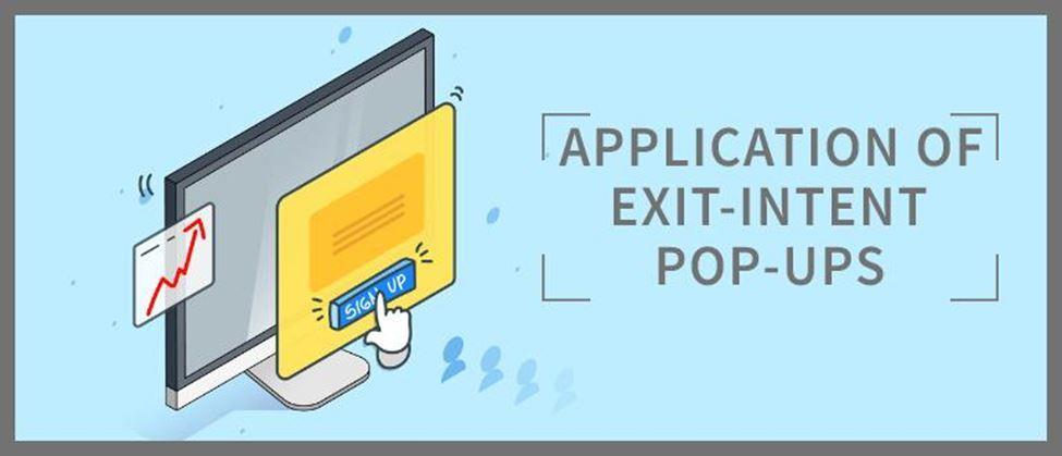 Application of Exit-intent pop-ups