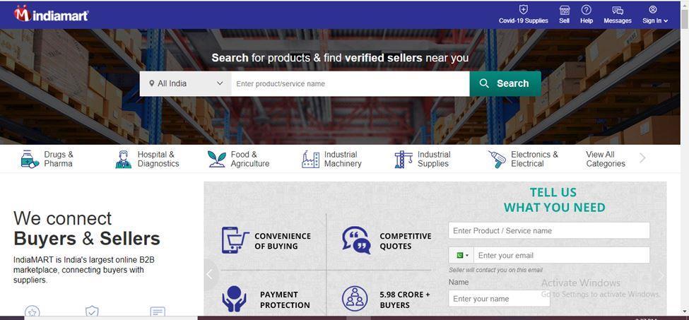 Best Indian B2B Portal