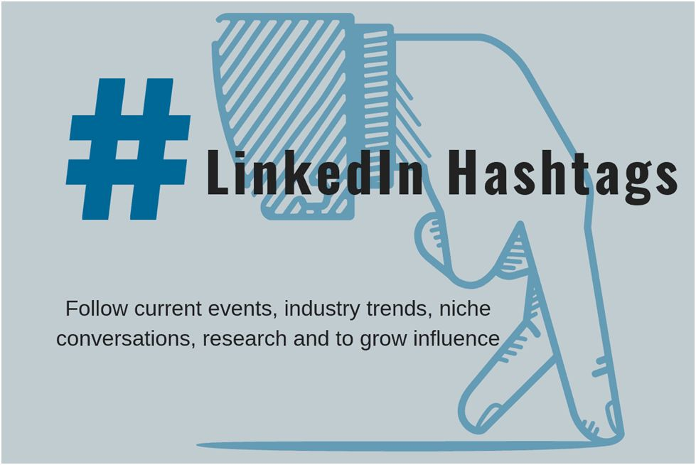 The trend of Hashtag on LinkedIn